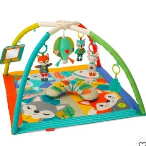 Infantino 4-in-one activity gym and play mat.